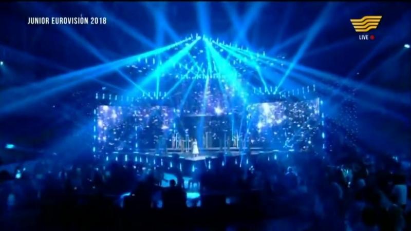 Данэлия Тулешова Өзіңе сен Junior Eurovision 2018