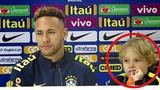 Все были в шоке от того, что сын НЕЙМАРА спросил прямо на пресс-конференции. Бразилия - Уругвай