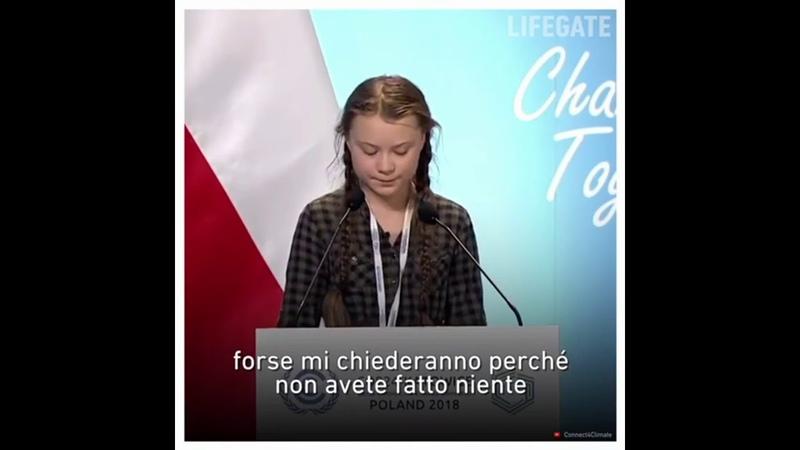 Greta Thunberg Svezia. Cop24 Katowice, Poland 2018