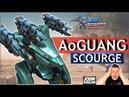 War Robots Ao Guang на Scourge Mk2