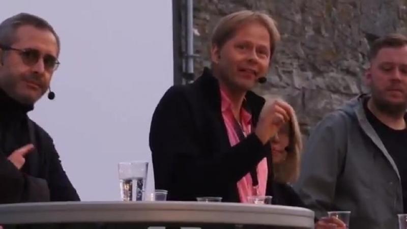 Anders Lindberg gör bort sig. - Public Service är INTE vänster..