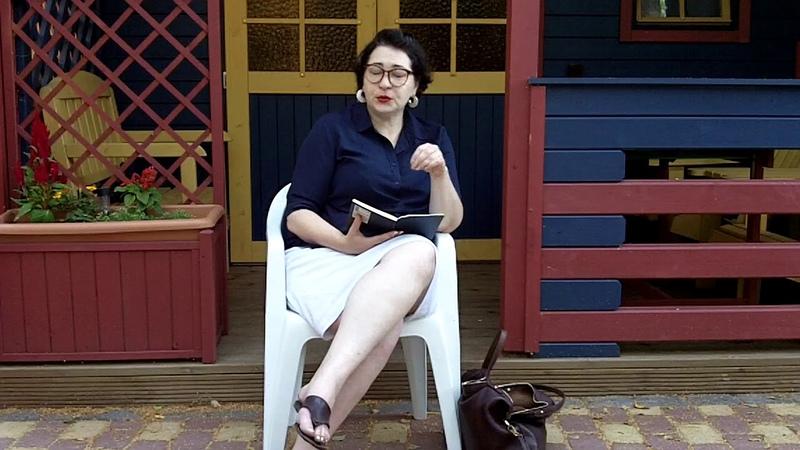 Лекция Марии Михайловой на терапевтическом шаттле в Юрмале