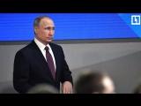 Истребители прикрывали борт Путина в Сирии