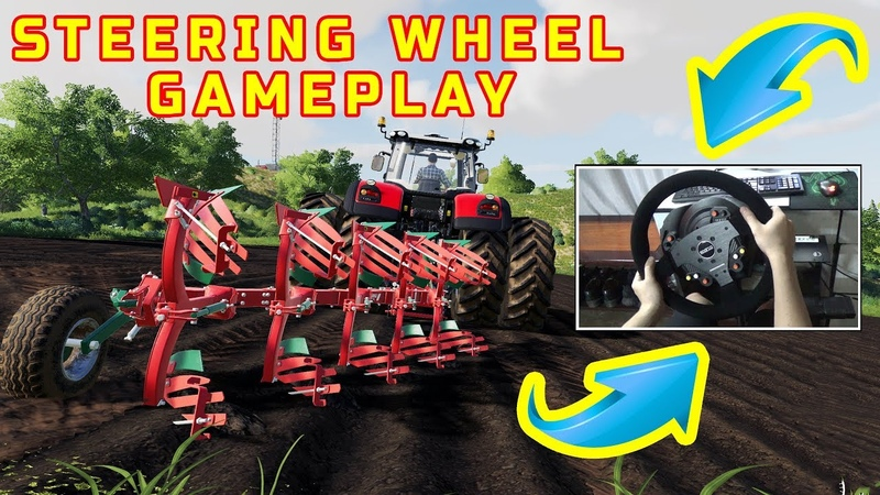 Farming Simulator 19 Farming Simulator 19 STEERING WHEEL Gameplay Digging For The Crop