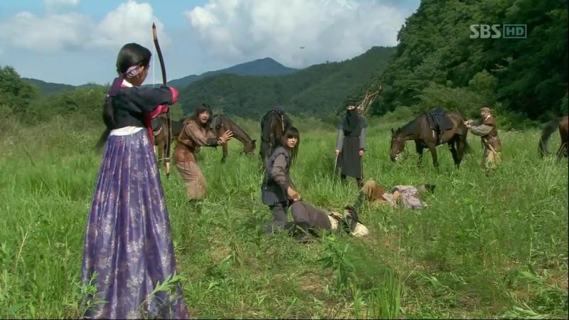 (Сокращенная версия) Воин Пэк Тон Су 5 серия
