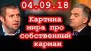 Дмитрий Потапенко Евгений Тарло Мы столкнемся с игрой крысинного короля 04 09 18