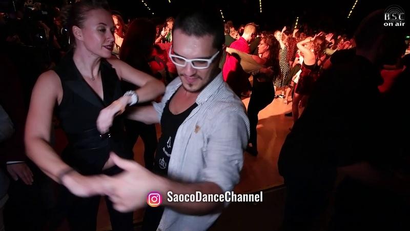 Deniz Seven and Alex De Smet Salsa Dancing at Berlin Salsacongress 2018 Sunday 07 10 2018