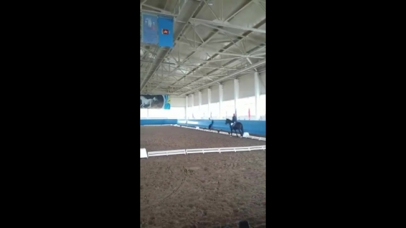 1-ое место на 2-ом ЧЕМПИОНАТЕ Республики Казахстан по паралимпийской выездке. по Конному спорту