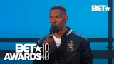 Jamie Foxx On XXXTentacion &amp Gives Emotional Speech On Combating Violence BET Awards 2018