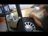 NISSAN TEANA Paintless Dent Removal Ремонт вмятин без покраски