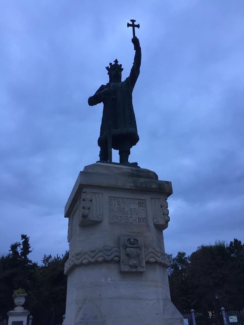 Путешествие в Молдавию и Приднестровье. Памятник Штефану Великому (молдавскому князю)
