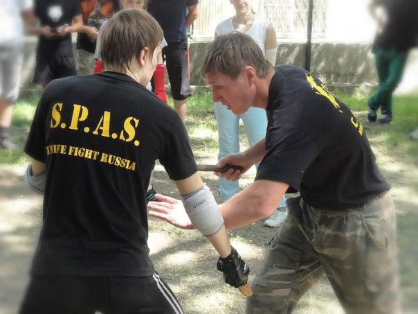 25 мая в Ростове-на-Дону прошла открытая тренировка по ножевому бою С.П.А.С.