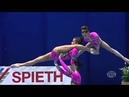 Мастерство на грани невозможного гимнастки