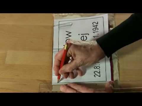 Wir schreiben eure Namen - Herstellung Namensziegel (2013) - кладбище военнопленных Херстен - Hörsten, KZ Берген-Бельзен, Ганновер, Нижняя Саксония