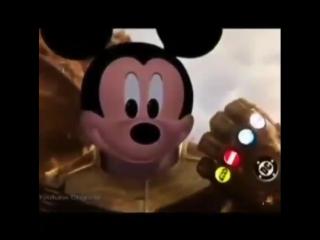 Mickey Mouse Thanos