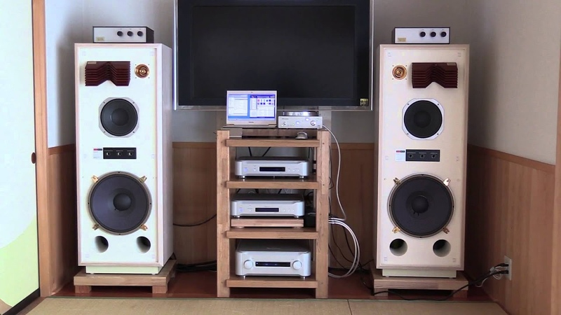KRS model 4346 special speakers produced by KENRICK SOUND has been delivered to Mr. T's home