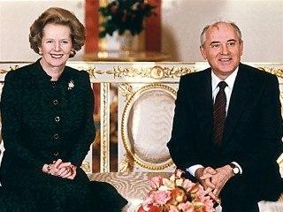 Рассекречены переговоры Горбачева и Тэтчер