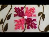 Hand Embroidery Kadai Kamal Stitch