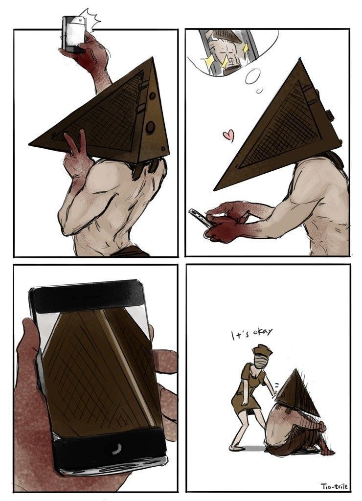 Фигурка пирамидоголового из фильма и серии игр Silent Hill