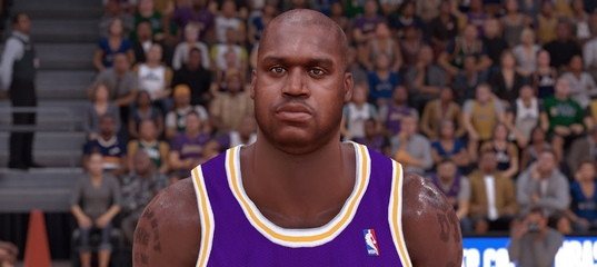 8bf447d0b NBA 2K19 - Shaquille O´Neal Cyberface by Stone2k