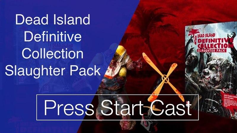Распаковка издания Dead Island Definitive Collection Slaughter Pack