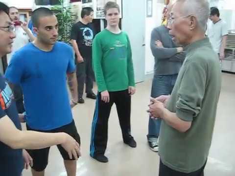 Chu Shong Tin - Chum Kui pivot kick