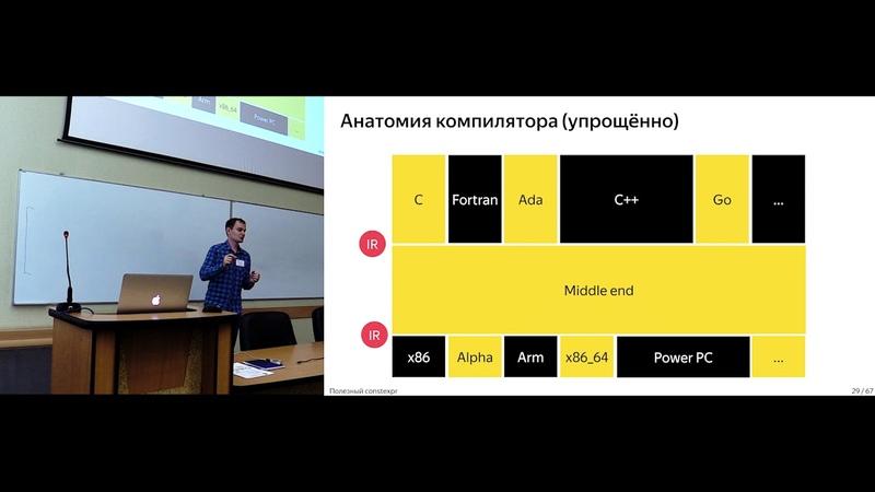 Антон Полухин (Yandex.Taxi) - Полезный constexpr