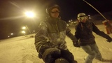 Sled Dogs Snowskates - Couple ride