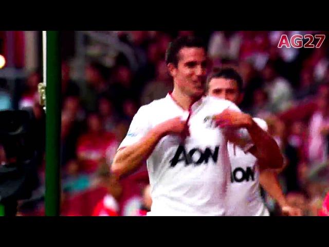 Robin van Persie's Top 10 Goals for Manchester United 2013 [HD]