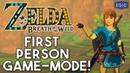 Zelda Breath of the Wild - New UNBELIEVABLE First Person Mode [ Cemu 4K60 ]