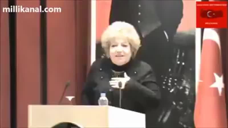 Azerbaycan Türk'ü Prof Dr Hanım Halilova Bozkurt Hiç Bir Dine Ait Değildir Türklüğün Simgesidir 🇹🇷🇹🇷🇹🇷🐺🐺🐺
