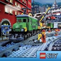 Обои.  Бренды.  Ремонт железной дороги.  Детский конструктор Lego.