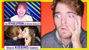 REACTING TO WEIRD COMPILATIONS OF ME w/ MY EX GF