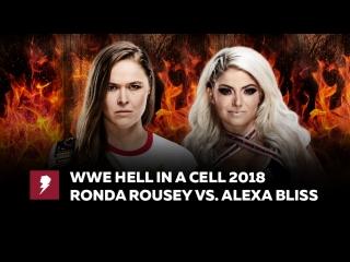 [#My1] Ад в клетке 2018 - Ронда Роузи против Алексы Блисс