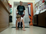 Смешной ученик. Уроки танца и спорта от  Zig-Zag.