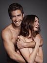 Совместная фотосессия Джейк Джилленхола и Энн Хэтауэ перед выходом фильма Любовь и другие…