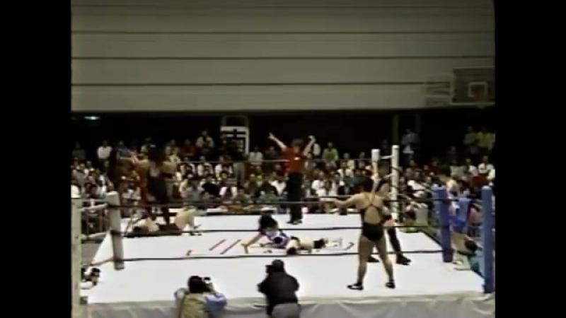 Fukuoka, Mariko, Suzuki, Ozaki vs Sumiko Saito, Sumiyo Toyama, Masami, Kansai (1992.5.13)