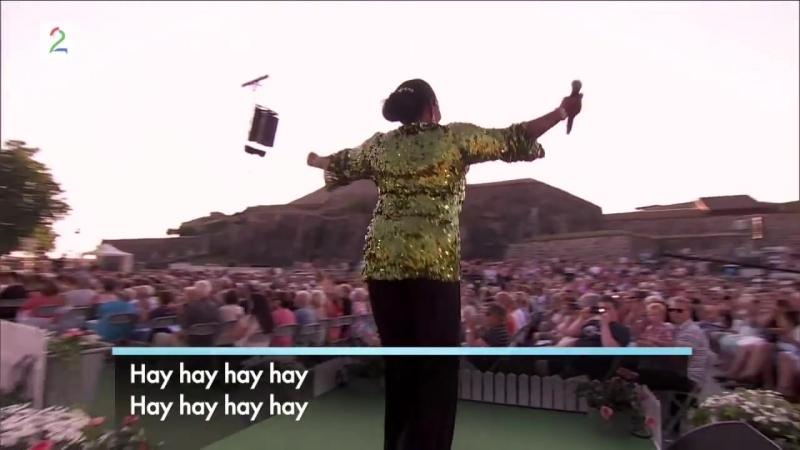 Boney M medley Rasputin Rivers of Babylon Sunny Daddy сool Allsang på Grensen 2014