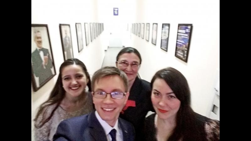 Работаем, ребята Концерт для работников Управления образования Белгородского района