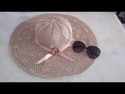 3° parte duvidas do chapéu de praia florido