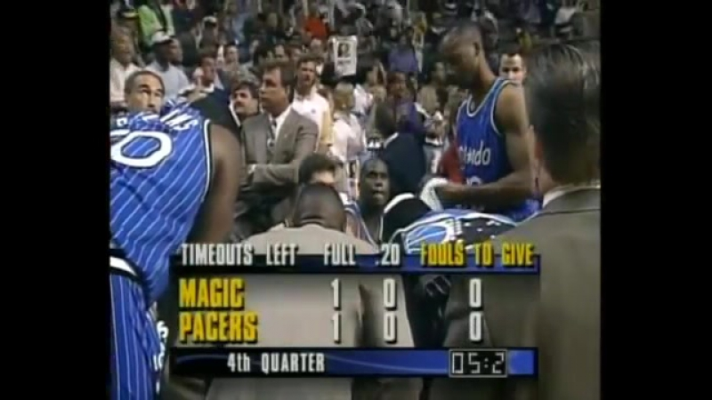 NBA - Indiana-Orlando 1995 - Game 4, 2nd Half 6-6 - HQ-1