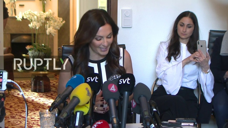 LIVE: Lawyer for alleged Assange rape accuser holds press conference in Stockholm - ENG