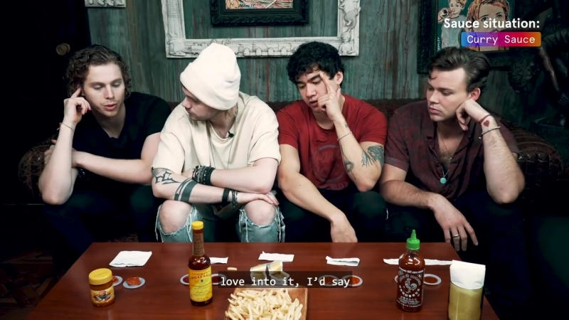 5 Seconds of Summer discuss Youngblood in 5 Sauces with 5SOS _ Bandwagon