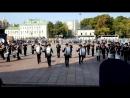 1 сентября 2018 года. Выступление суворовцев 4-го курса МВМУ у Храма Христа Спасителя.