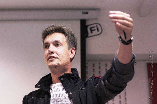 Презентація психотрилеру «Твердиня» Макса Кідрука в Полтаві