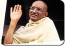 Однажды индийский лидер Махатма Ганди садился в поезд.