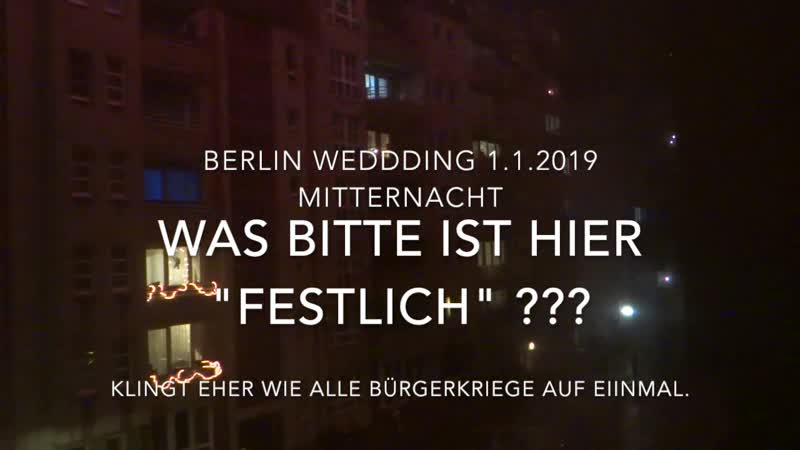 Sylvester in Berlin klingt wie Krieg.