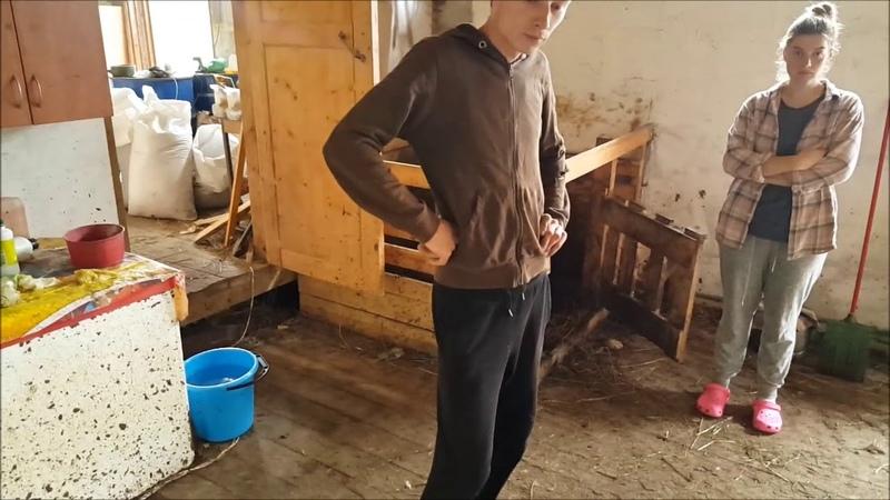 Поездка в гости к деревенским блогерам канал Будни фермера Саша Маша РЕСПЕКТ