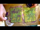 Mixed Media Textured Book Cover Tutorial jennings644
