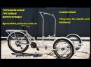 Велосипед для уличной торговли едой и напитками Велокофейня велорикша cargo bike t